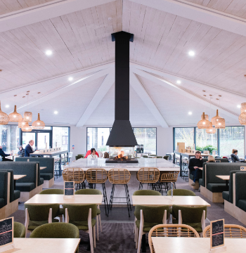 In 2019, we remodelled and relaunched the Cairn Lodge motorway service area on the A74(M) in South Lanarkshire.