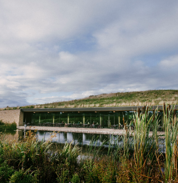 In 2014 we opened Gloucester Services, an award-winning sustainable development on the M5